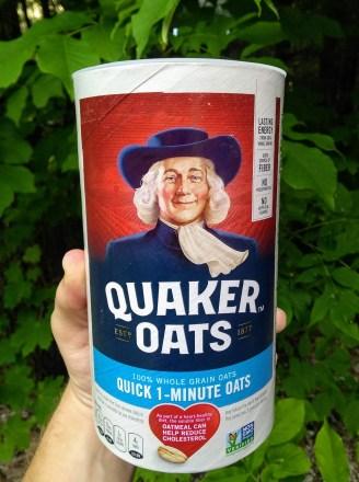 A box of oatmeal.