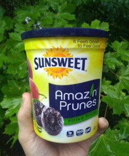 A package of Prunes, may help keep cholesterol levels down.