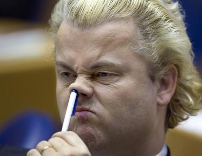 Geert Wilders - Photo taken from NOS