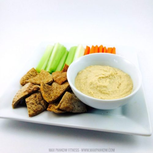 Homemade Hummus Pita Chips 2
