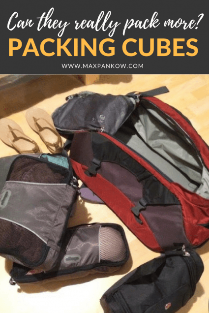Do packing cubes really allow you to pack more?