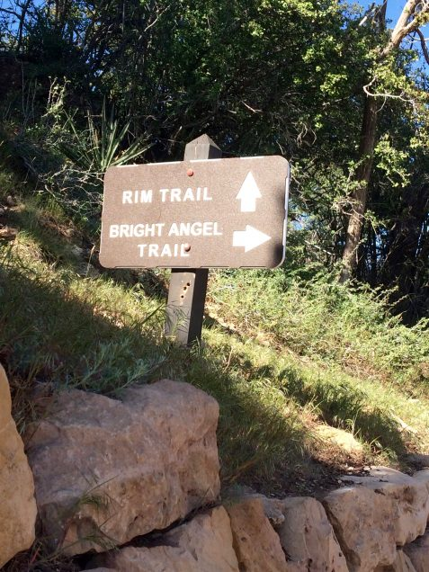 bright angel trail rim trail