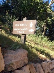 bright angel trail rim trail