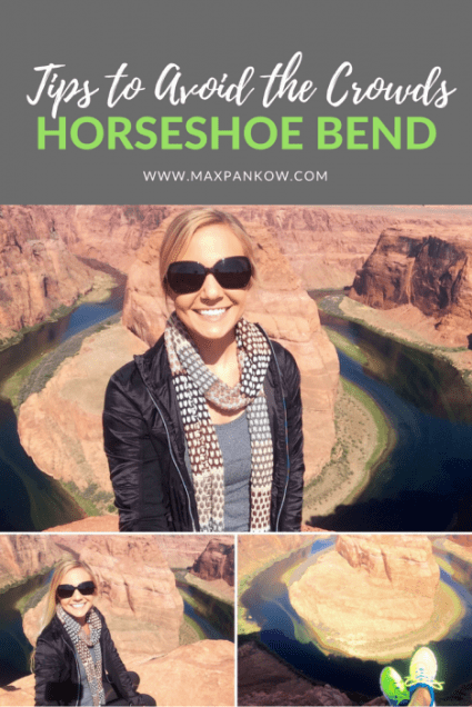 Tips to avoid the crowds at Horseshoe Bend