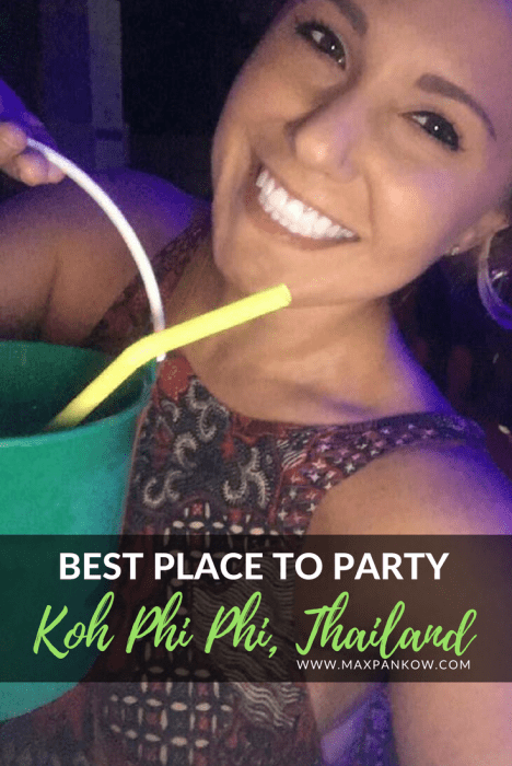 EDM music, buckets of drinks, neon paint, dancing all night, flaming jump ropes, muay thai fights, sunrise at the beach... a morning hike! This is Koh Phi Phi. Prepare to have the best time of your life! Oh yeah, Maya Bay from the movie