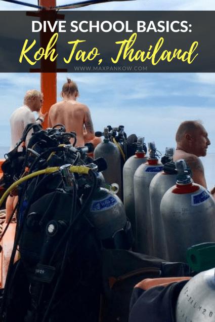 Dive School Basics in Koh Tao Thailand - Max Pankow Adventures
