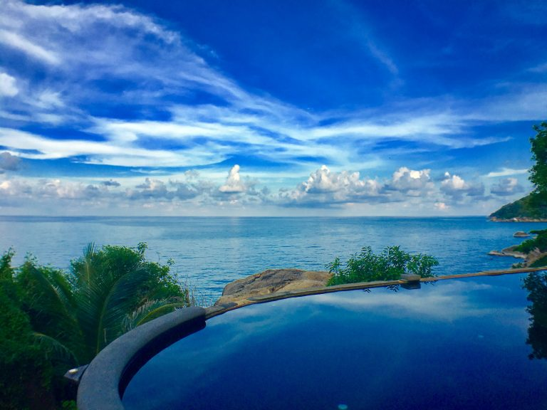 Infinity Pool on Koh Samui