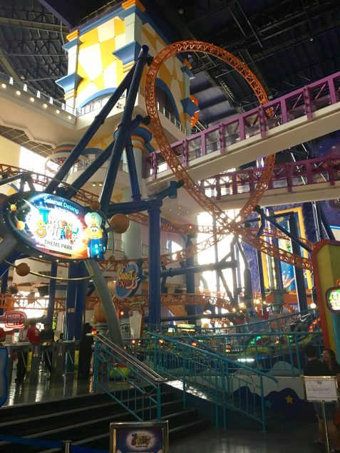 Roller Coaster in Berjaya Times Square