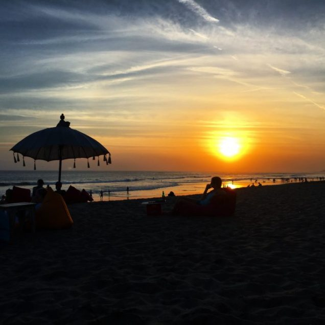 Beach Sunset in Canggu Bali