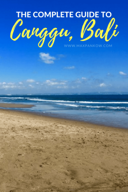 Get the complete guide to Canggu, Bali on the blog!