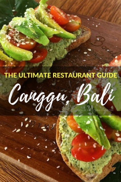 The Best Restaurants in Canggu, Bali