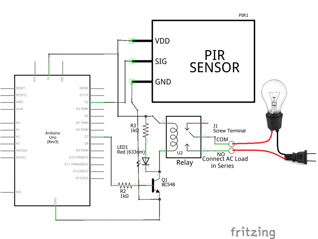 Motion Sensor Light Wiring Diagram Uk