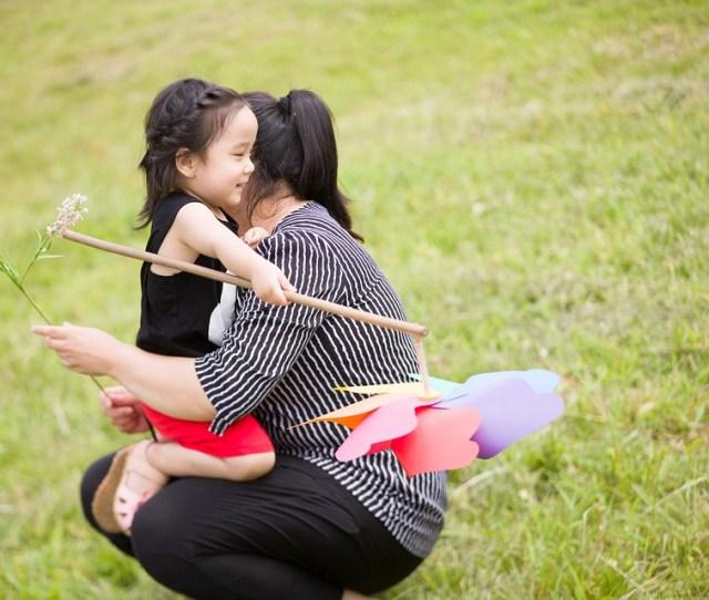 Family Child Cute Outdoor Baby Kids Girls Joy