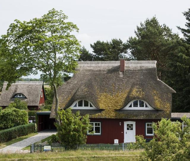 Thatched Roof Reed Home Northern Germany