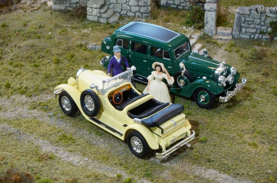 1958 ford cars » Free photo Horch 851 Mercedes 630 K Model Cars Diorama   Max Pixel Model Cars  Diorama  Mercedes 630 K  Horch 851