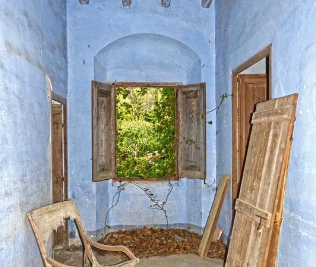 Hall Farmhouse House Abandoned Abandonment