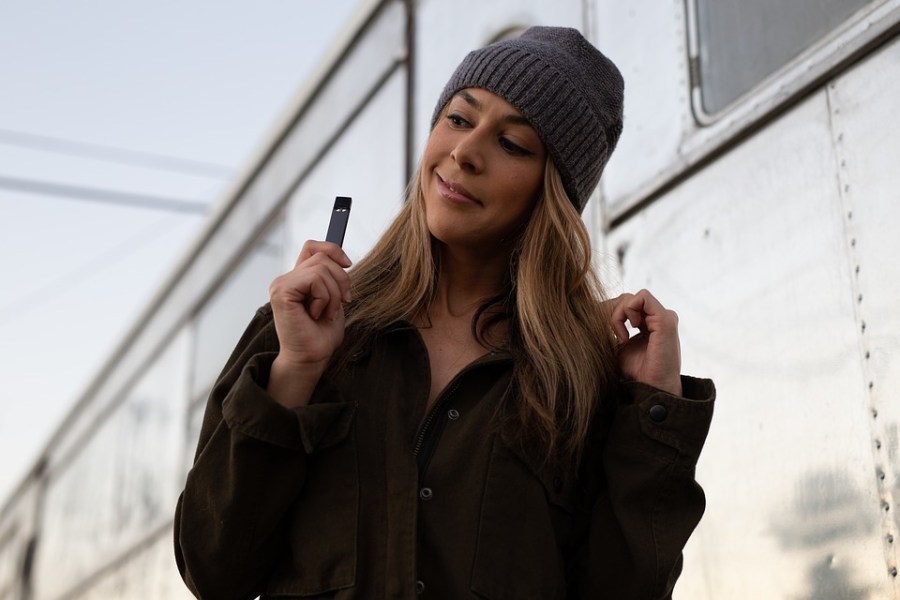Influencer marketing with JUUL