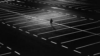 City, People, Street, Night, Lights, Man, Dark, Lonely