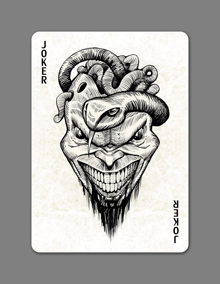CreepyAces Max Playing Cards