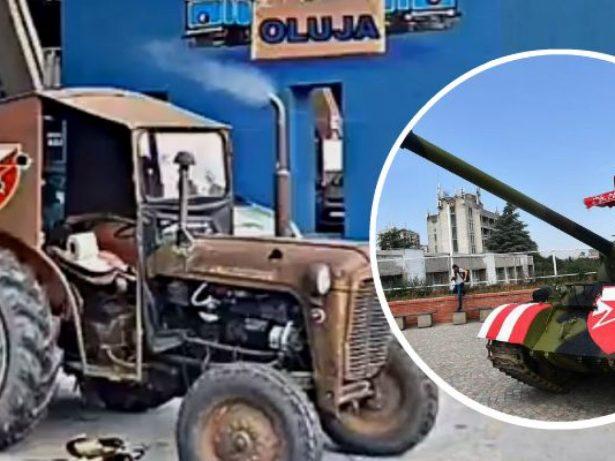 Srbi šokirani traktorom, tenk im ne smeta: 'Hrvati opet pokazali da nemaju  srama'