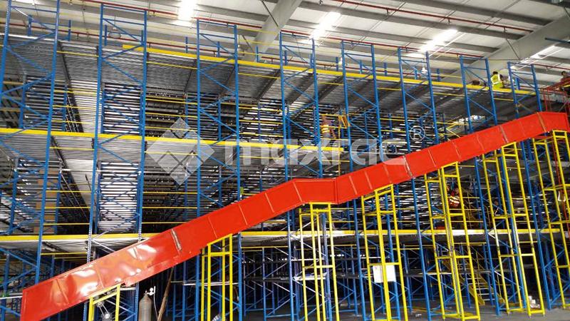 mezzanine system pallet racking