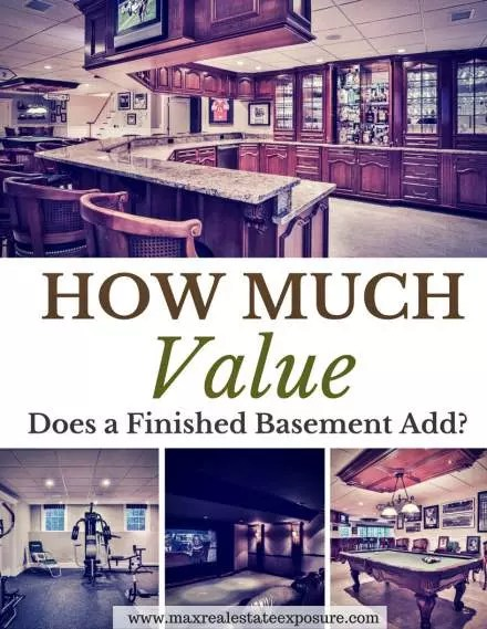 Image Result For How Much Does A Finished Ba T Add To Home Value