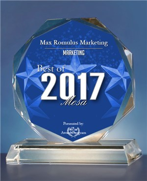 Max-Romulus-Marketing-Receives-2017-Best-of-Mesa-Award