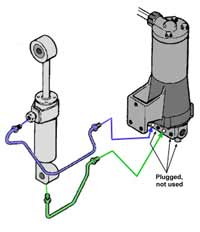CHRYSLER FORCE OUTBOARD TRIM MOTORS, SOLENOIDS, RELAYS