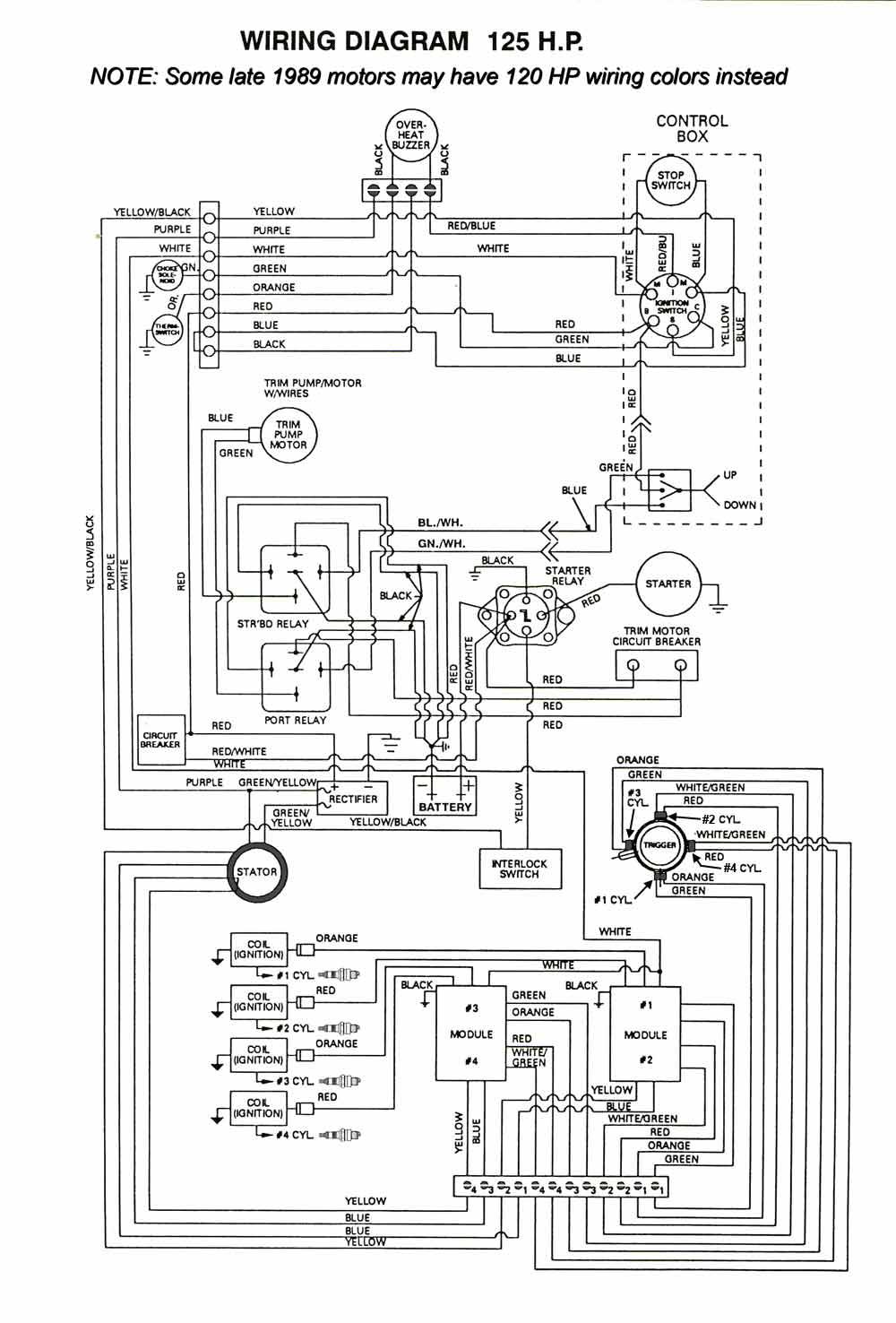 ignition 4 cyl force wiring mercury marine ignition 4 cyl force 85Hp Force Outboard Wiring Diagram