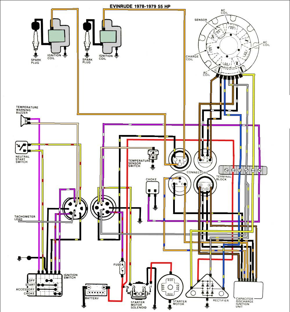 Inboard Wiring Diagram - General Wiring Diagrams on