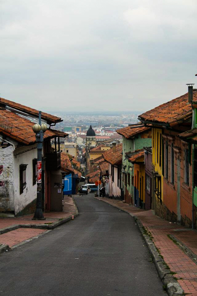 La Candelaria - the historic district of Bogota