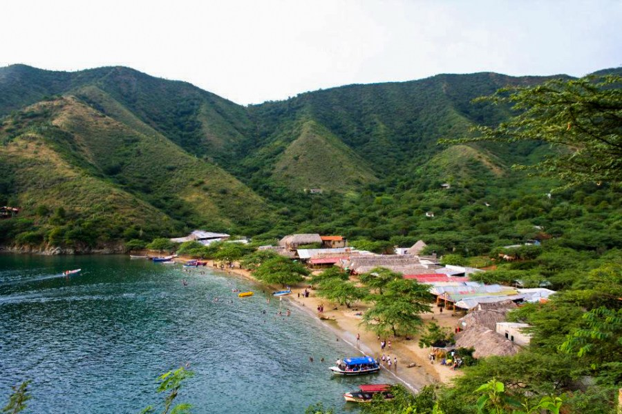Taganga on the Caribbean coast