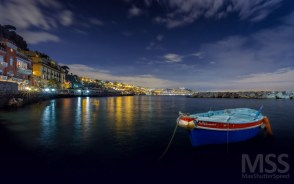 The bay of Riva Fiorita - Naples