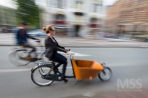 Cyclists in Amsterdam 6