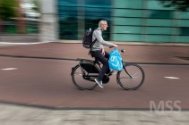 Cyclists in Amsterdam 4
