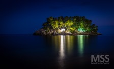 Parga by night 1