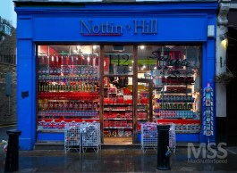 The original location of Notting Hill book shop