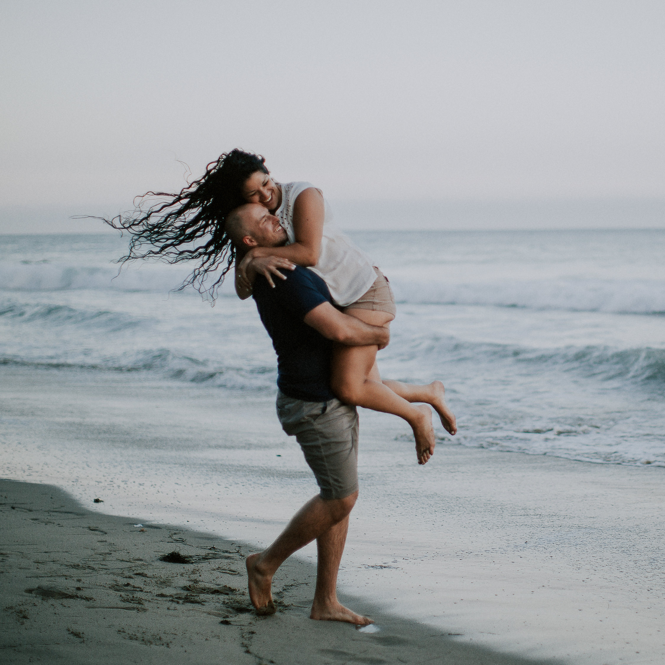 alex + brianna | Malibu Engagement Session