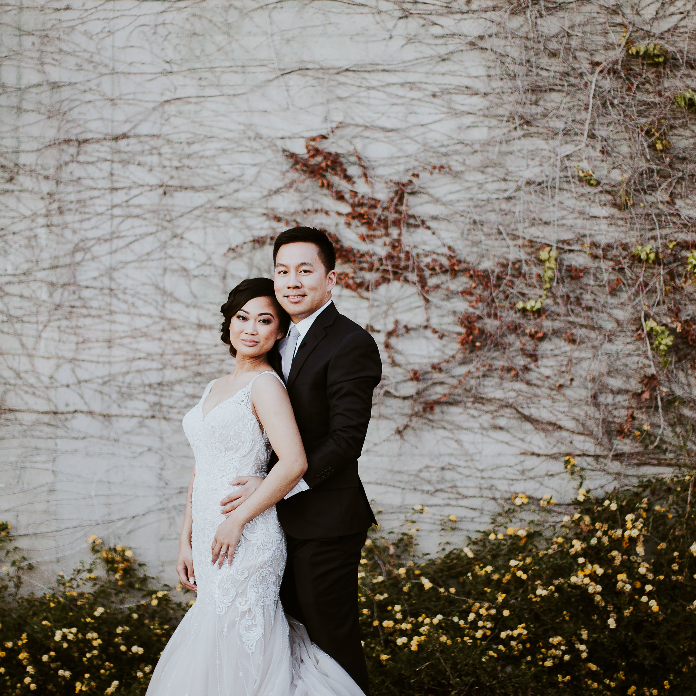sam + veralyn | The Mitten Building Wedding