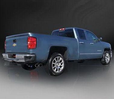 exhaust system sport polished 14 18 chevy silverado 6 2l