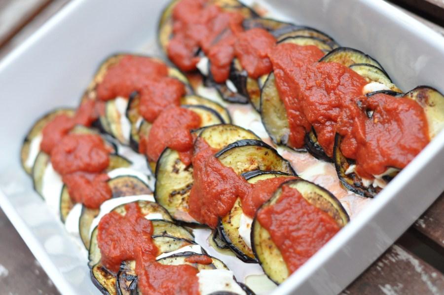 aubergine parmigiana 2