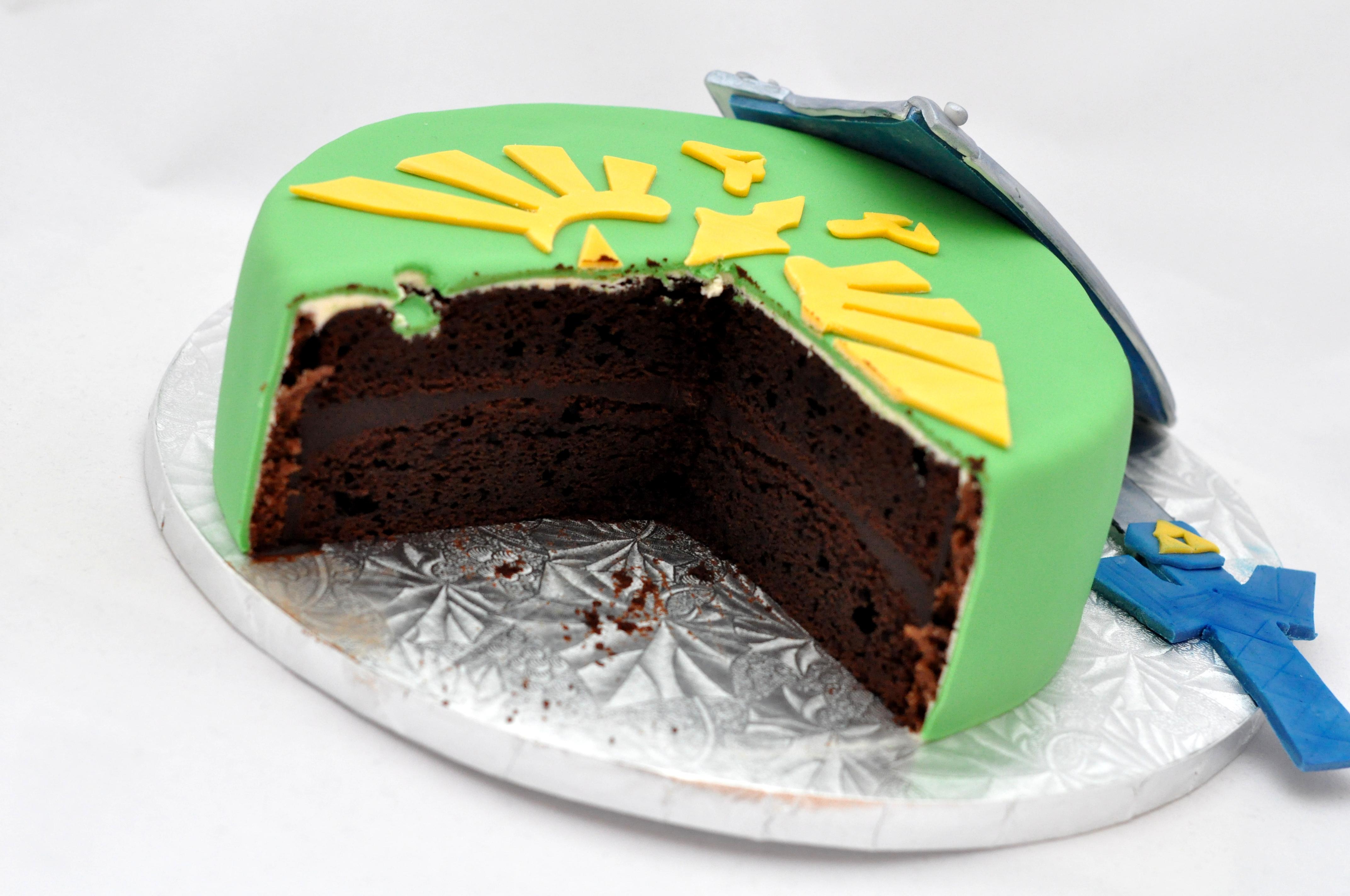 Legend Of Zelda Birthday Cake By Bake O Holic Maya Cooks