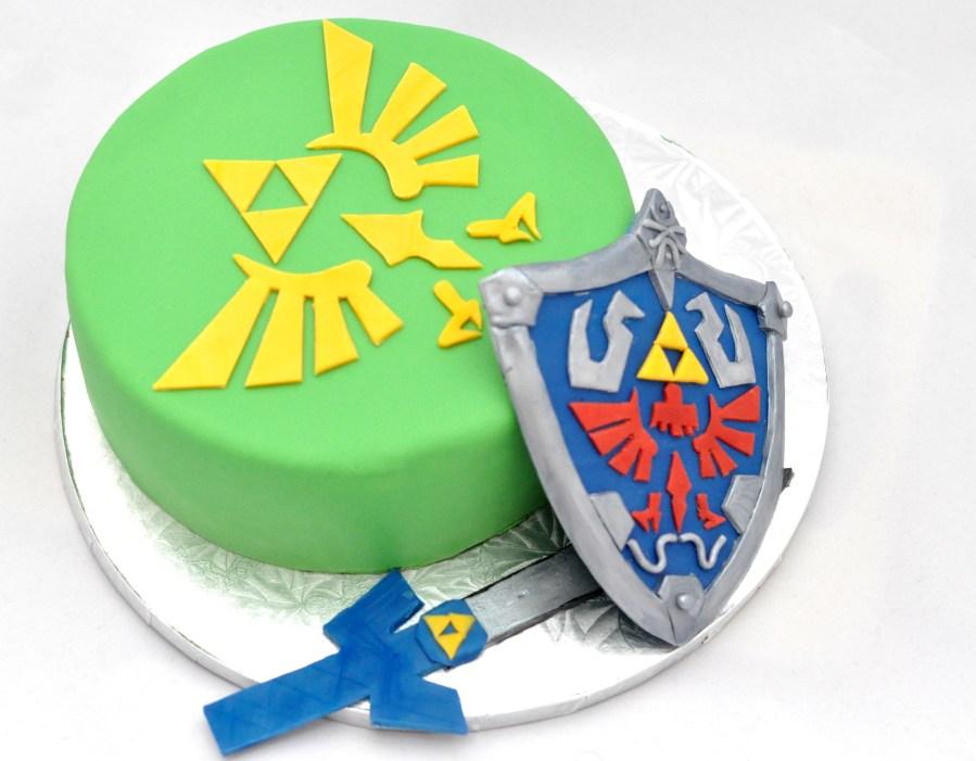 Miraculous Legend Of Zelda Birthday Cake By Bake O Holic Maya Cooks Funny Birthday Cards Online Elaedamsfinfo