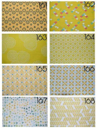 Cotons 161 à 168
