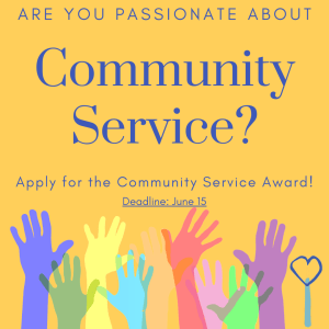 link to community service award