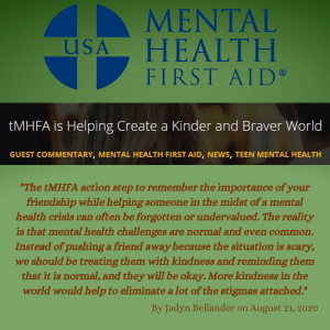 link to tMHFA blog article
