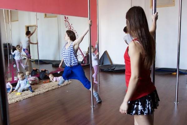 pole dance и материнство-2