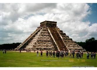 Mayan Pyramid El Castillo