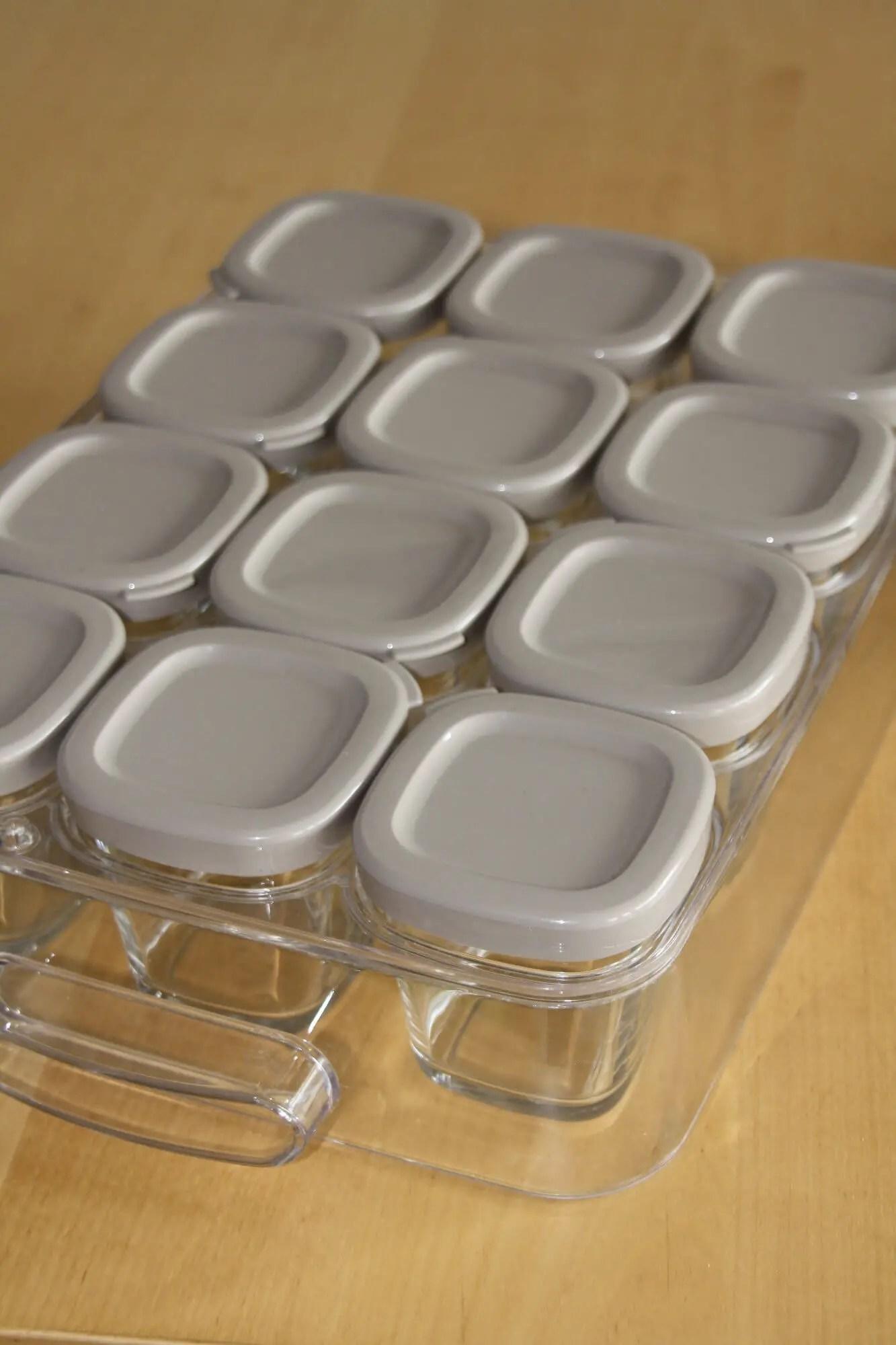 pots de la yaourtière SEB Multidélice