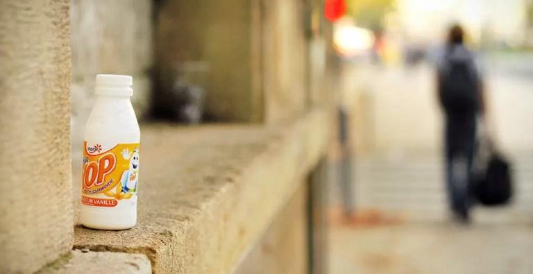 alternative yop, yaourt à boire fait maison